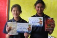 "To celebrate International Book Giving Day, Randwick Park School gave books to kids and recognized kids who had ""made a great start to their learning in their new class."""