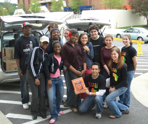 Books for Africa student book drive