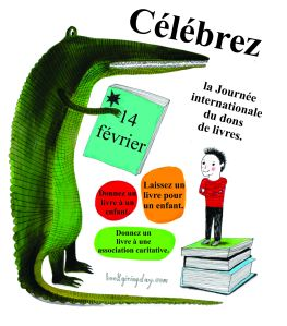 International Book Giving Day poster_French