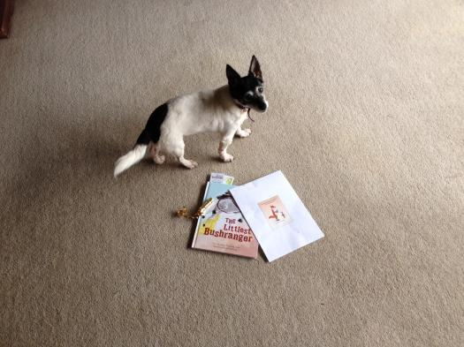 Author Alison Reynolds about gift books with a little helper, in Australia.