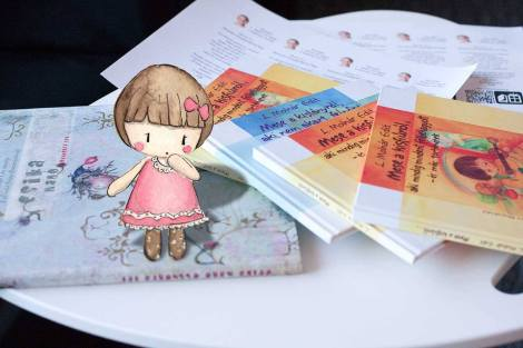 Children's author Edit's wonderful storybooks donated for International Book Giving Day.